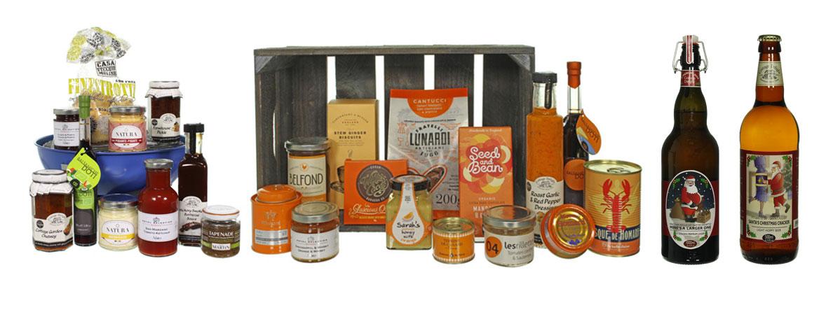 product fotografie cadeau conserven en levensmiddelen